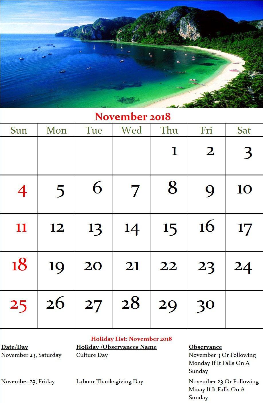 november 2018 calendar japan november calendar us calendar