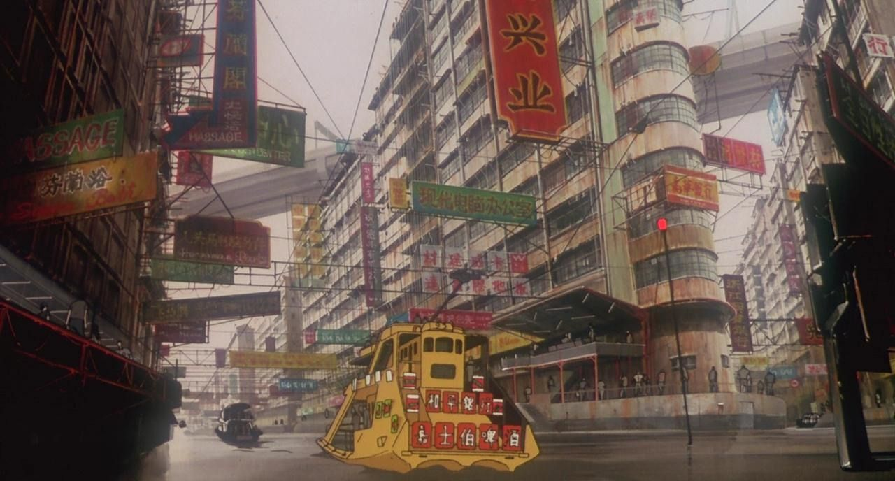 Ghost in the Shell. Directed by Mamoru Oshii.... | AnimeBackgrounds