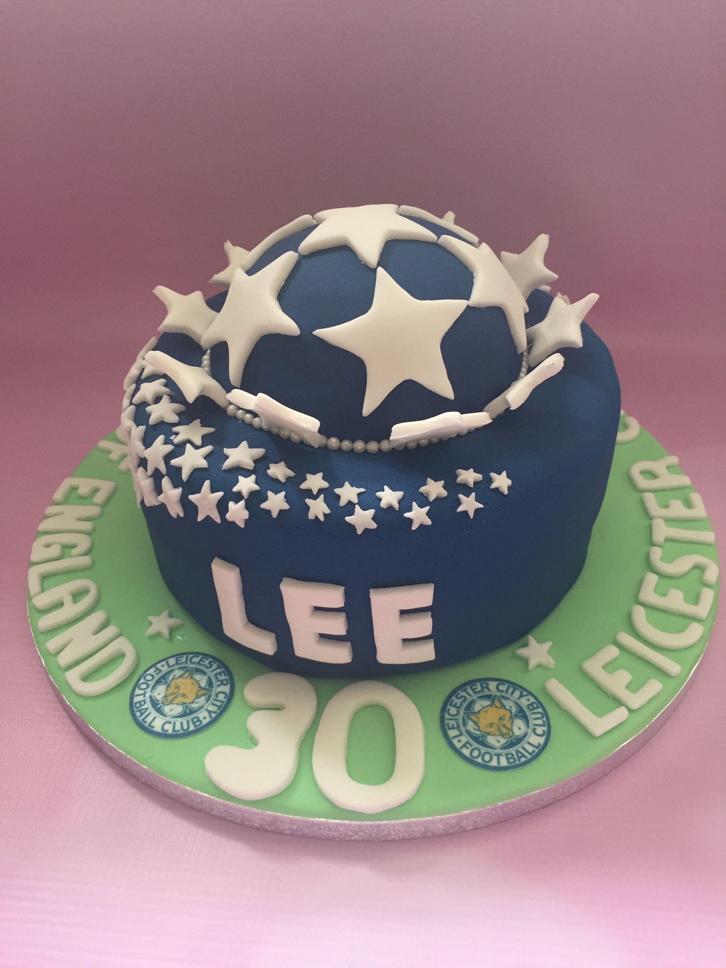 Leicester city cake My cakes Pinterest Cake