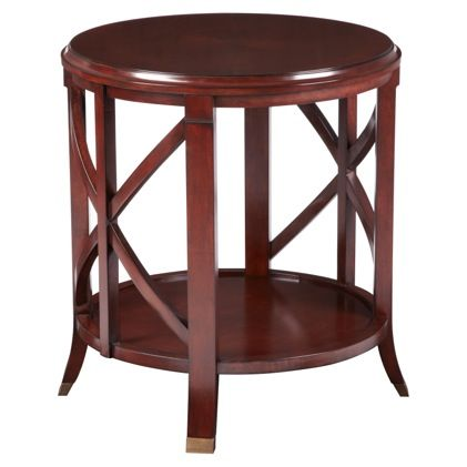 Pavilion End Table Antique Mahogany