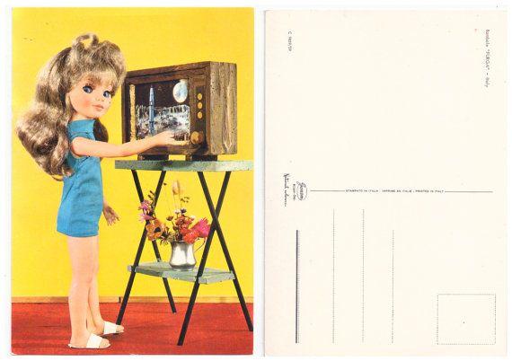 FURGA ALTAMODA Tre S 60s Garami italy - original doll postcard mint 02
