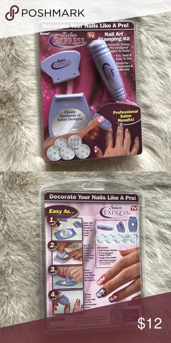 Salon Express nail art stamping kit NWT in 2018 | My Posh Picks ...