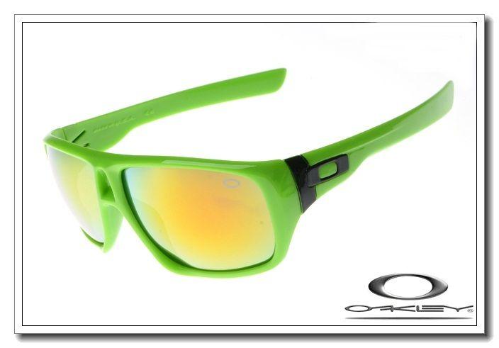 7610104314 Oakley dispatch sunglasses island green   fire iridium