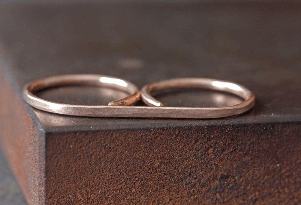 Double Finger Bar Ring