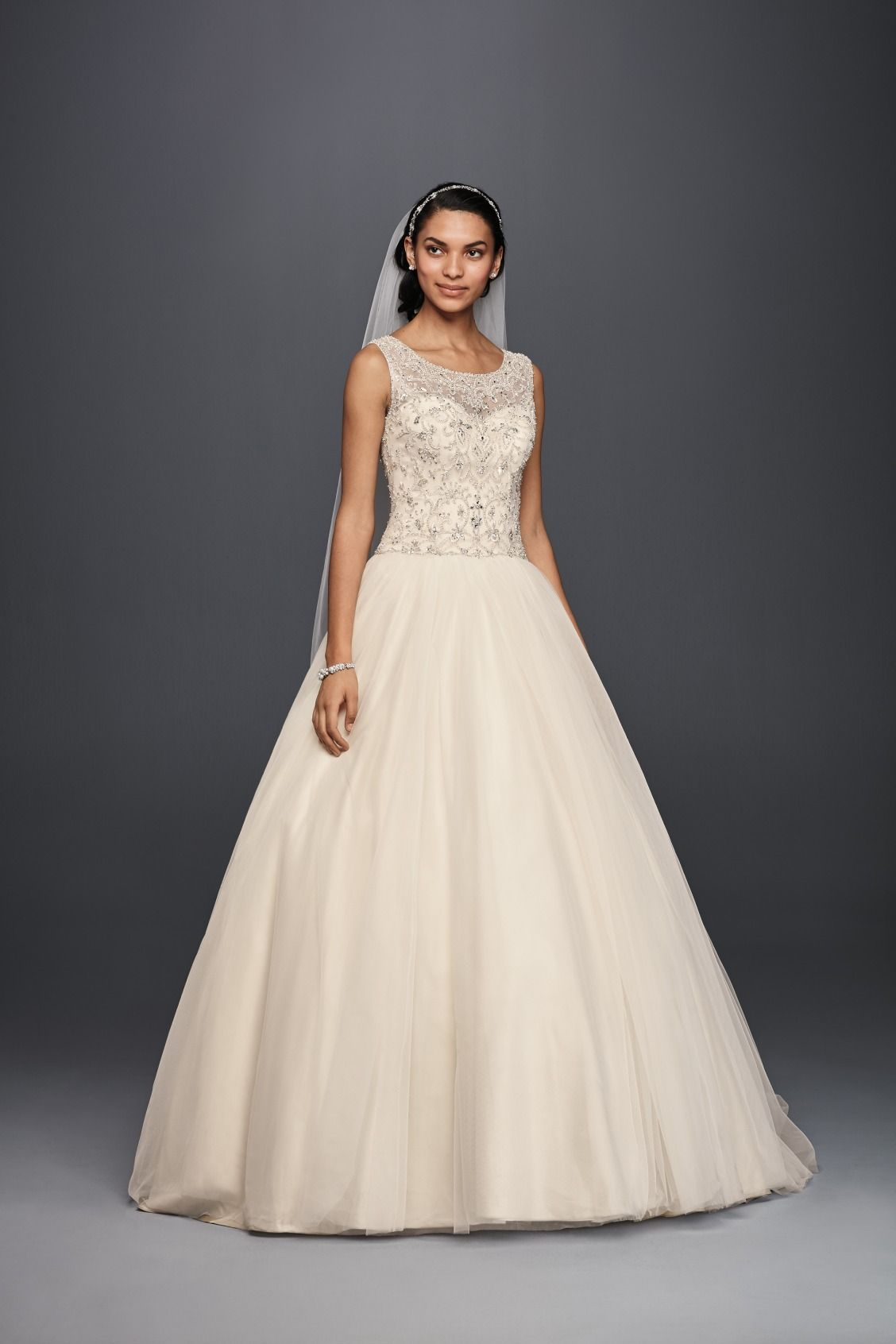 For a bride that is sure to shine, Oleg Cassini Ball Gown Wedding ...