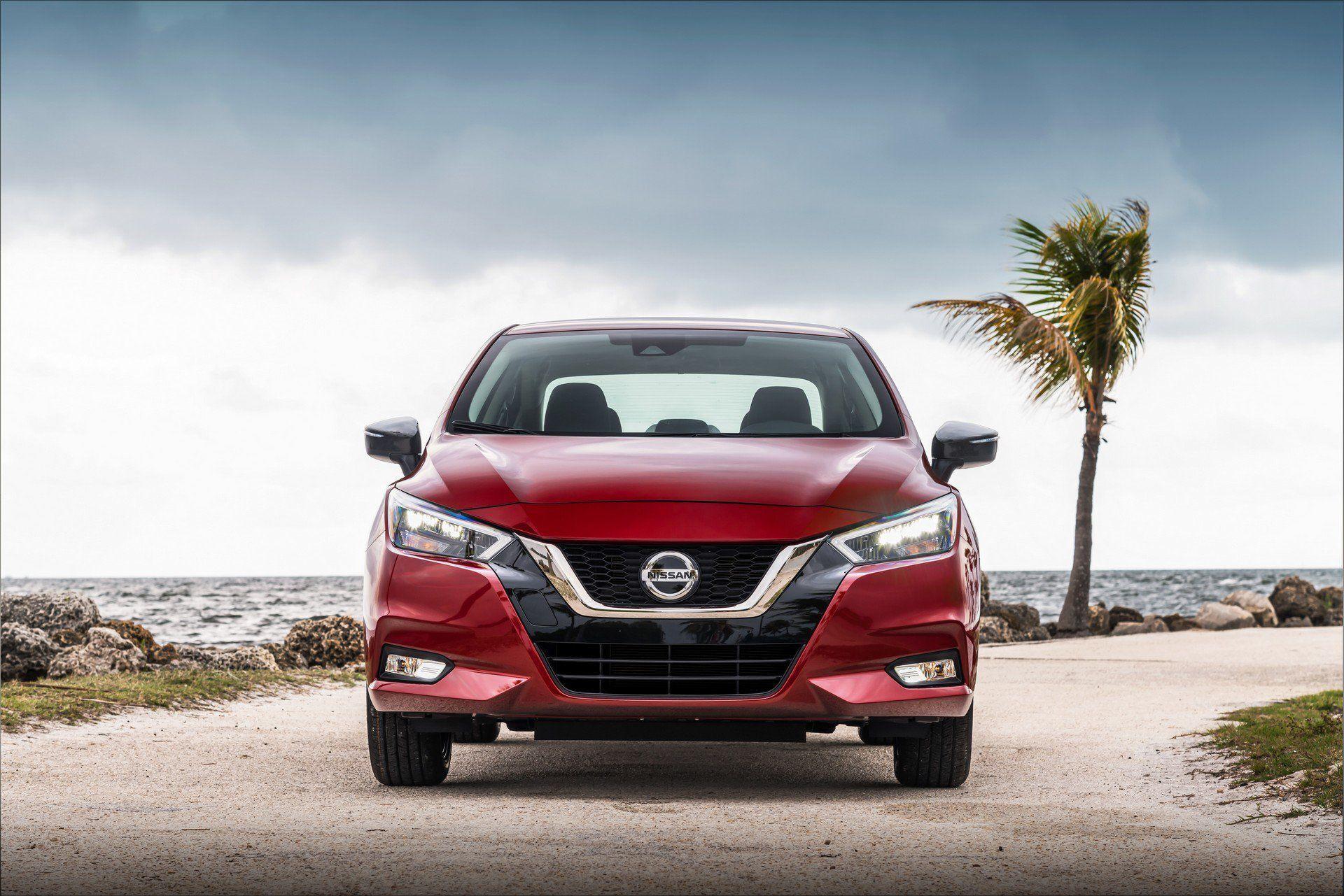 Thiết Kế đầu Xe Nissan Sunny 2020 Nissan Mua He