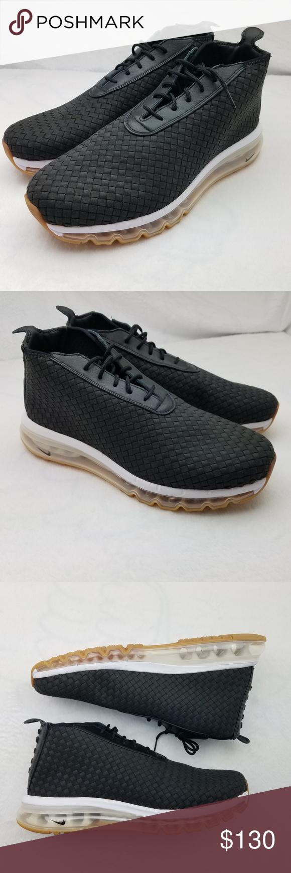 e477c39050b Nike Air Max Woven Boot Black 921854 Black Gum Mens Nike Air Max Woven Boot.