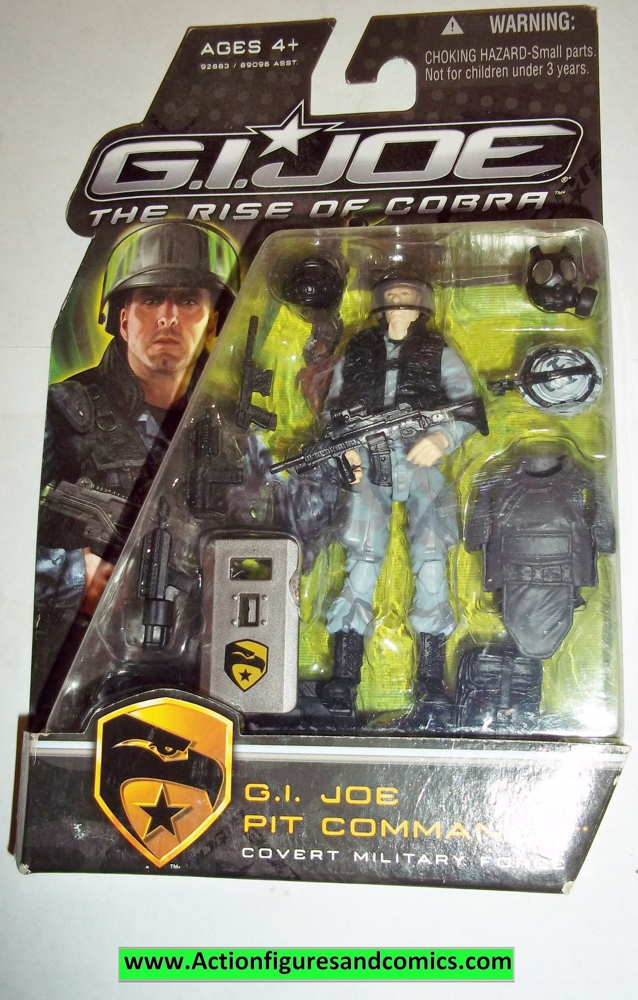 "2011 GI Joe Retaliation New 3 3//4/"" BRAND NEW SEALED SNAKE EYES figure"