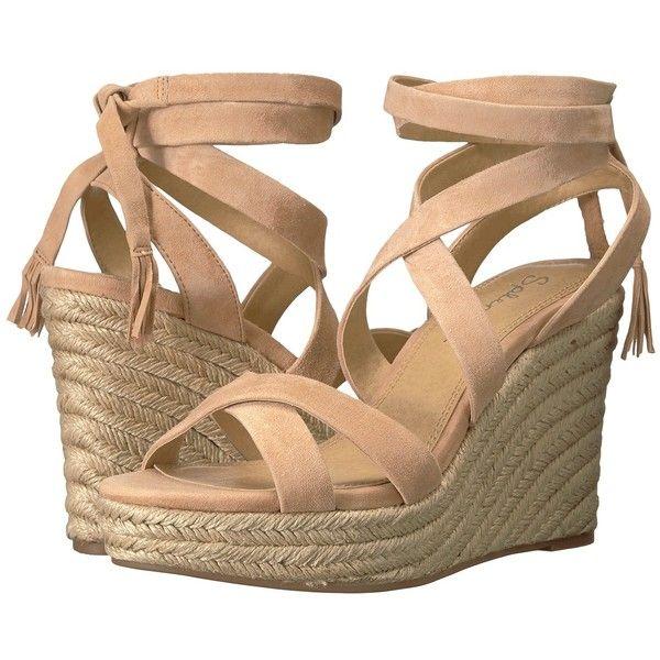 282c3367bf8 Splendid Janice (Nude) Women's Wedge Shoes ($138) ❤ liked on ...