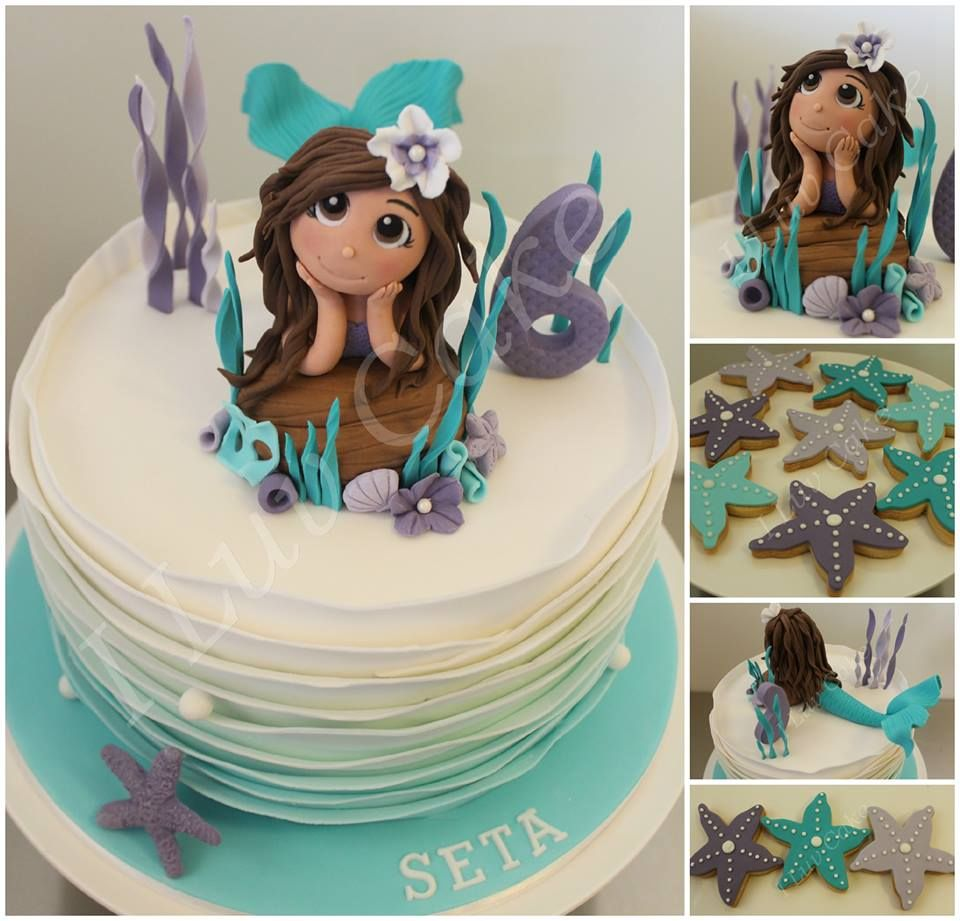 Custom designed mermaid cake by i luv cake