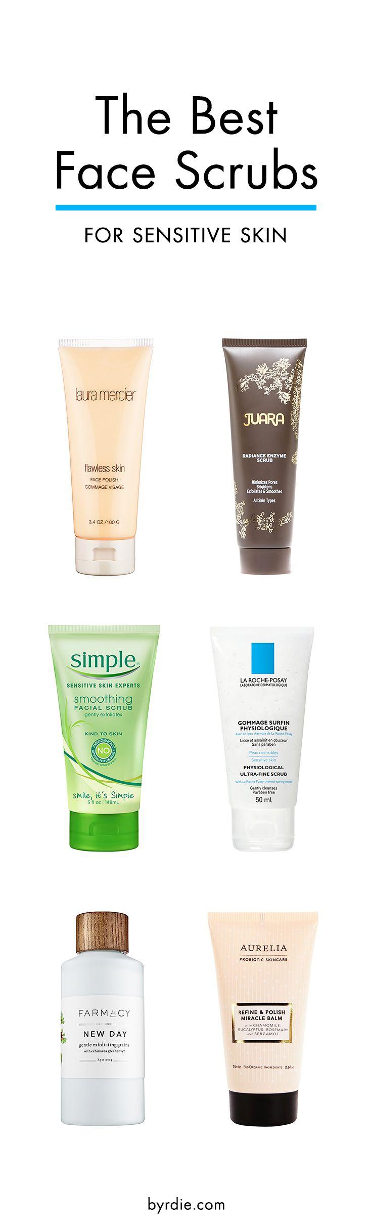 The Best Face Scrubs for Sensitive Skin Sensitive skin
