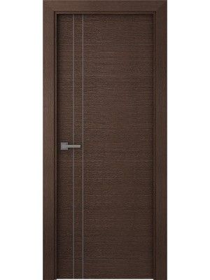 Prefinished Maya VV Wenge Modern Interior Single Door