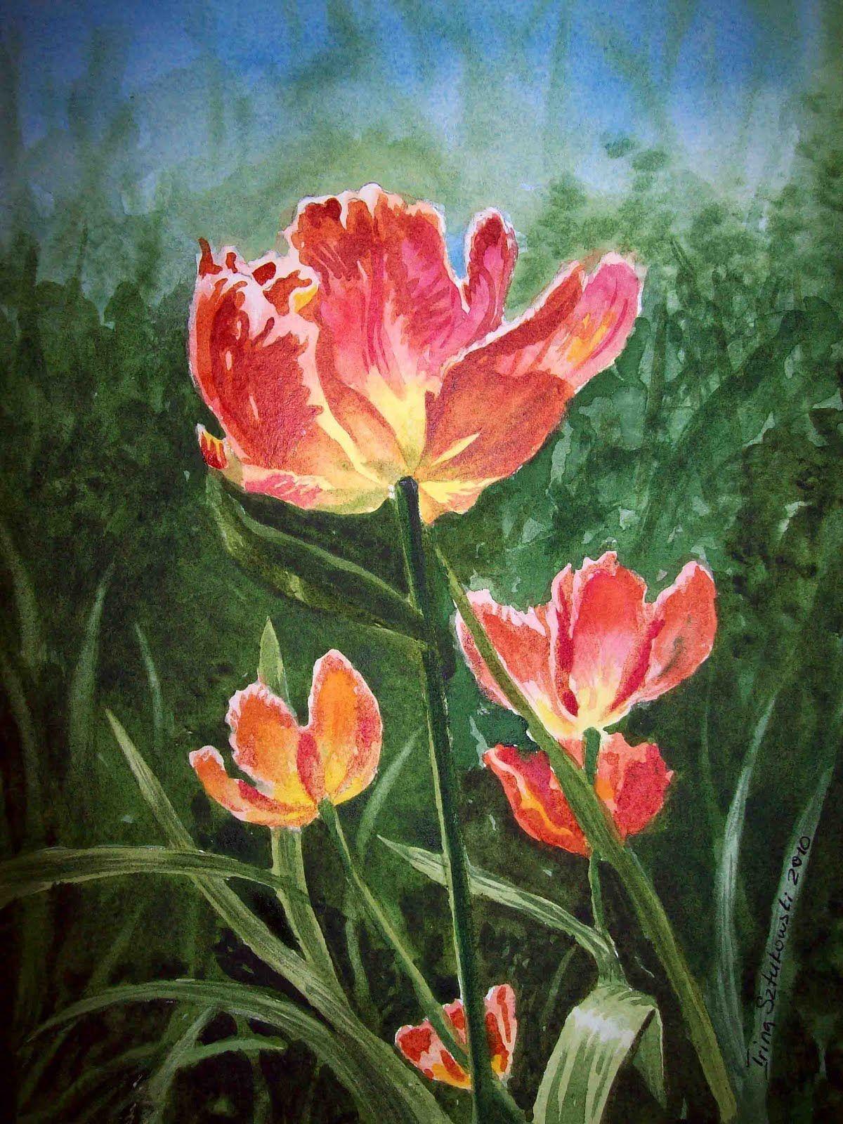 Irina Sztukowski - Fine Art: tulip