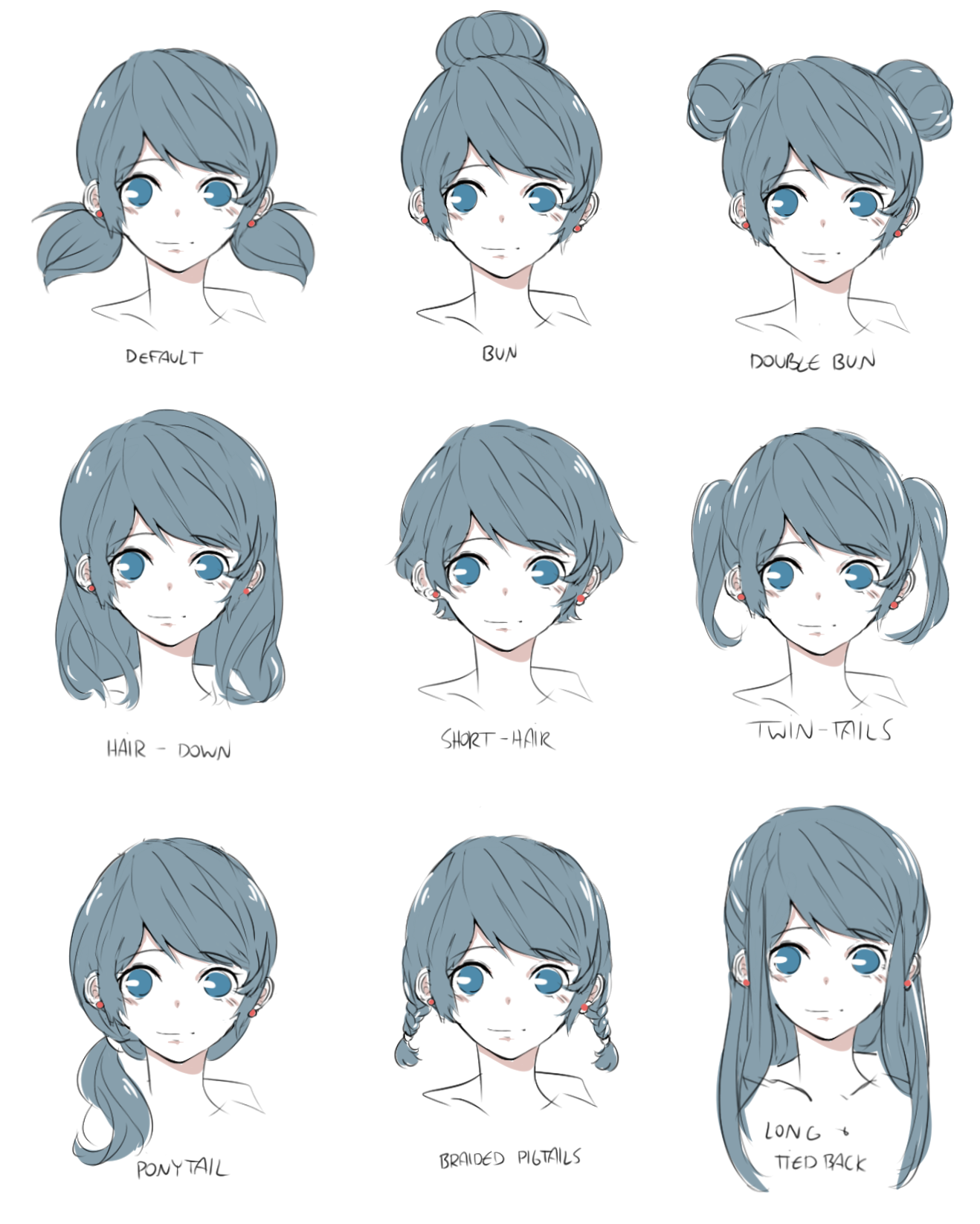 ml - hairstyles piikopoko
