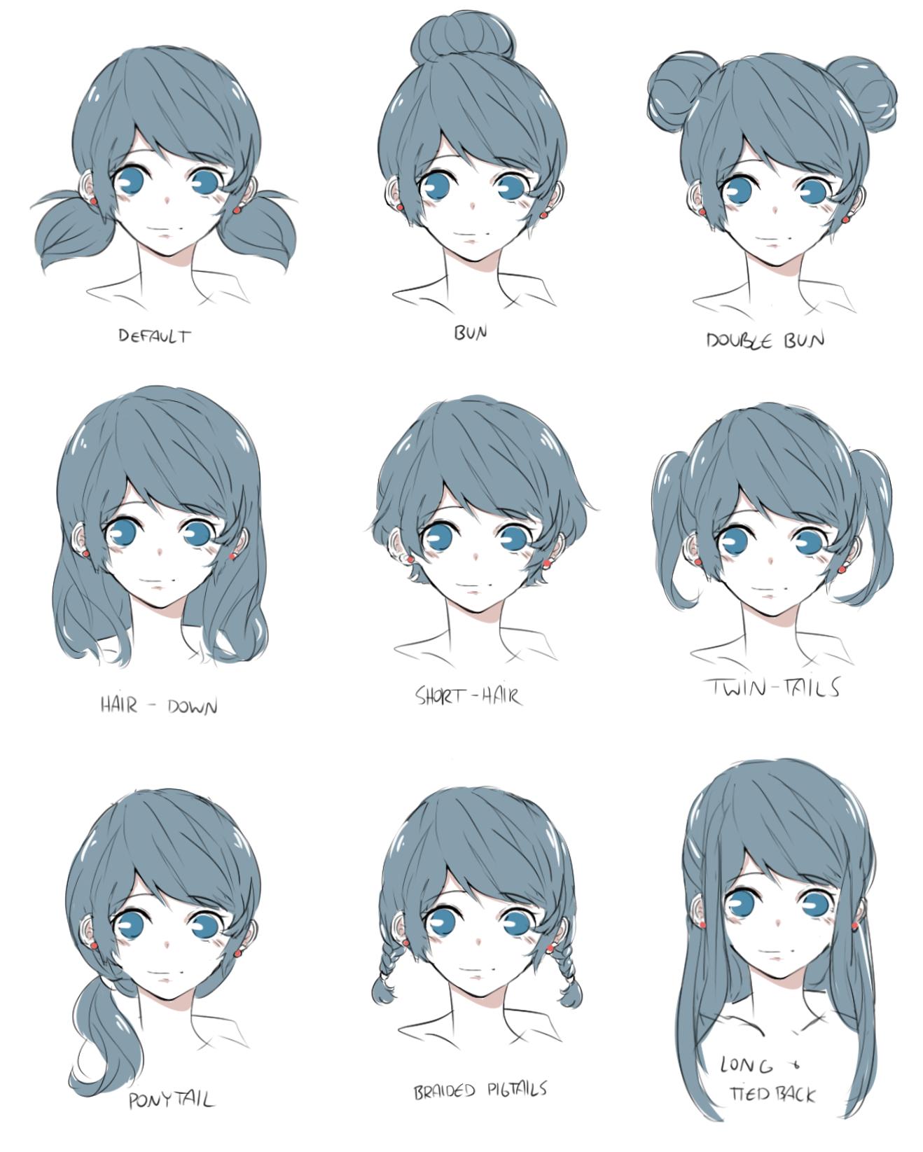 「ML - Hairstyles」/「piikopoko」のイラスト [pixiv] | MToLBaCN ...