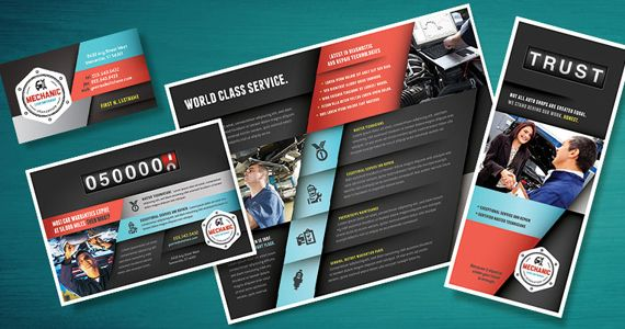 Graphic Design for Marketing Auto Repair Shops and Mechanics ...