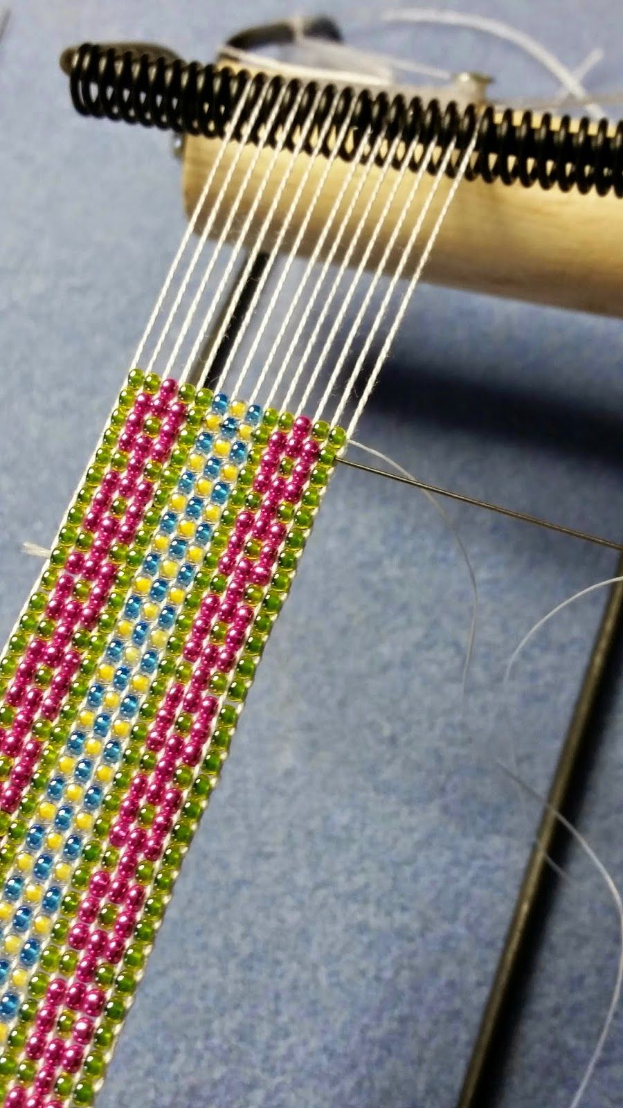 what nots how to finish a loomed bracelet seed bead