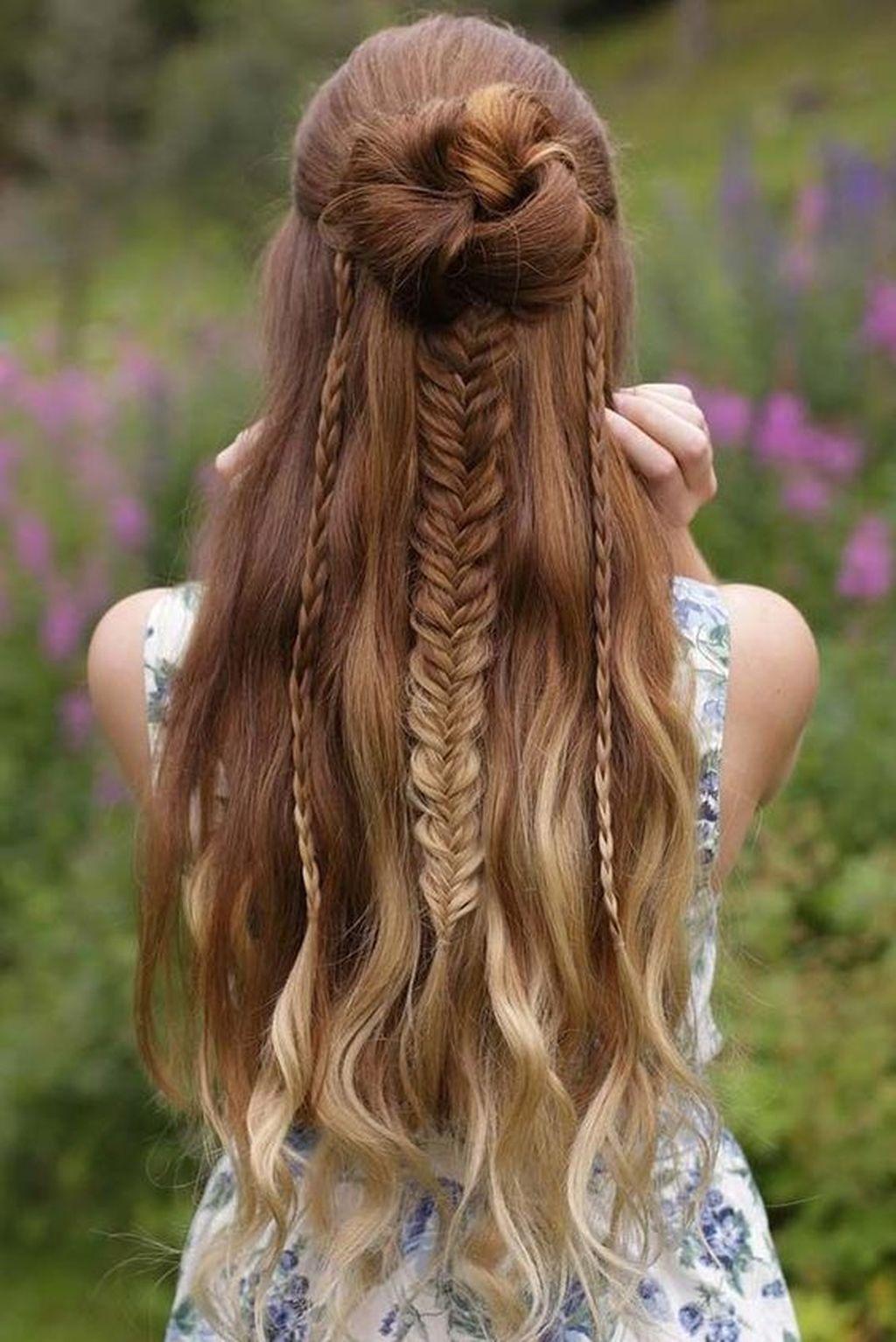Admirable 40 Stunning Girly Hairstyles Ideas Girly Hairstyles Bridal Schematic Wiring Diagrams Phreekkolirunnerswayorg