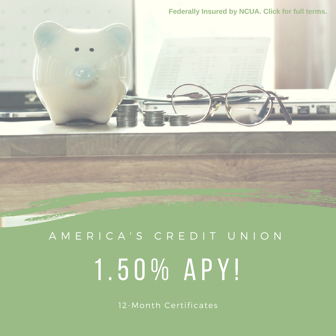 share certificate investments cds americas credit union