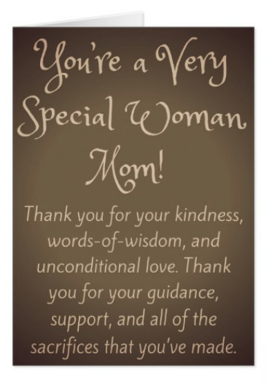 African American Birthday Greeting Cards For Mother Mom And Mama Youre A Very Special Woman AfricanAmerican GreetingCards