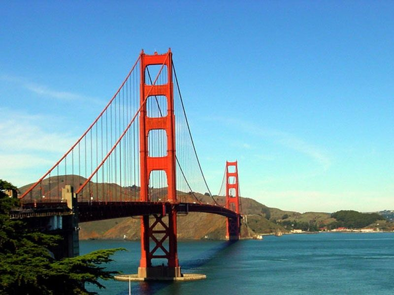 West Coast Tours Vacation Packages Los Angeles Las Vegas San Francisco Yellowstone Grand Canyon San Francisco Golden Gate Bridge Vacation Packages West Coast