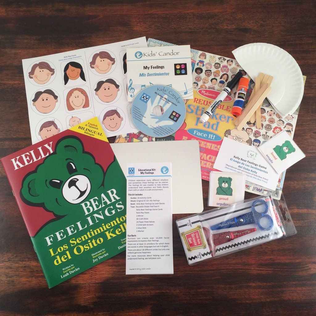 My Feelings Educational Kit Ages 3 Yrs