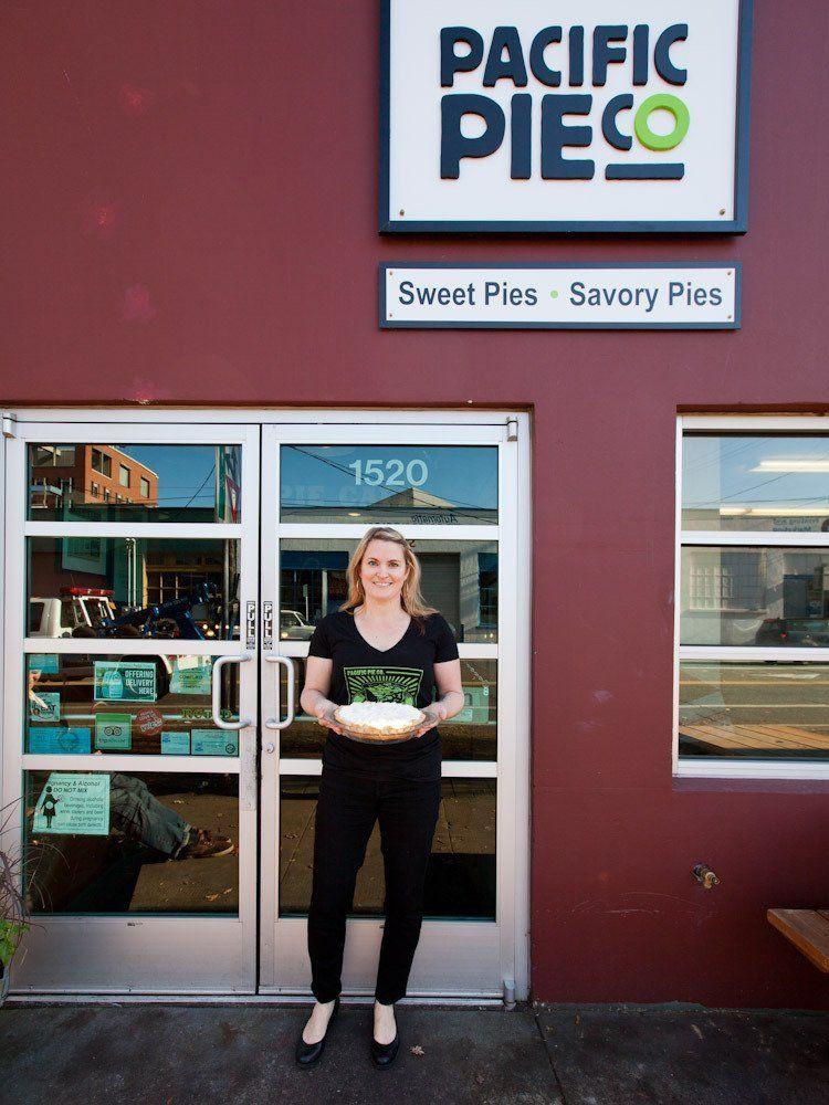 A Visit to Portland's Pacific Pie Co. Pie co, Pie
