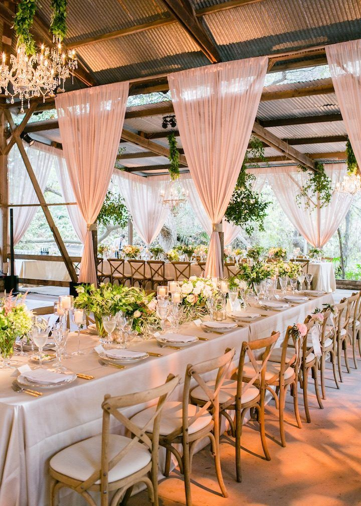 Bezaubernde Santa Barbara Hochzeit im Rancho Dos Pueblos   – Wedding Reception Ideas