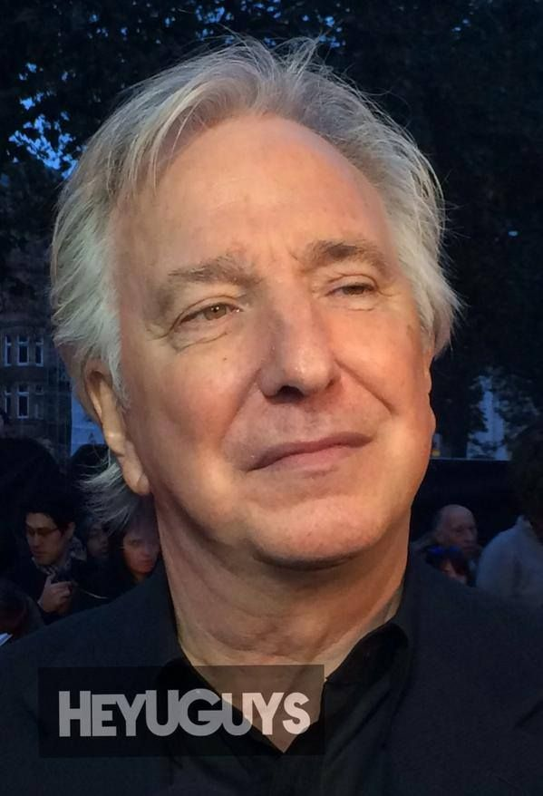 Over The Hills And Far Away Alan Rickman With Wife Rima Horton