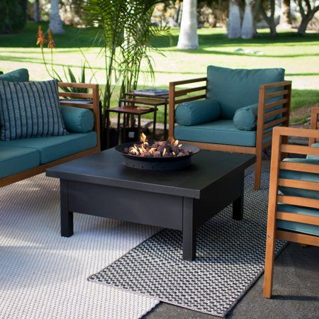 Photo of Red Ember Liv Gas Fire Table – Walmart.com