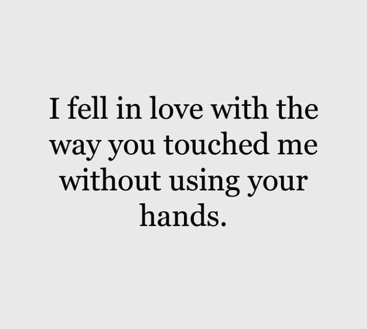 I feel in love  #couplequotes #touch #lovequotes