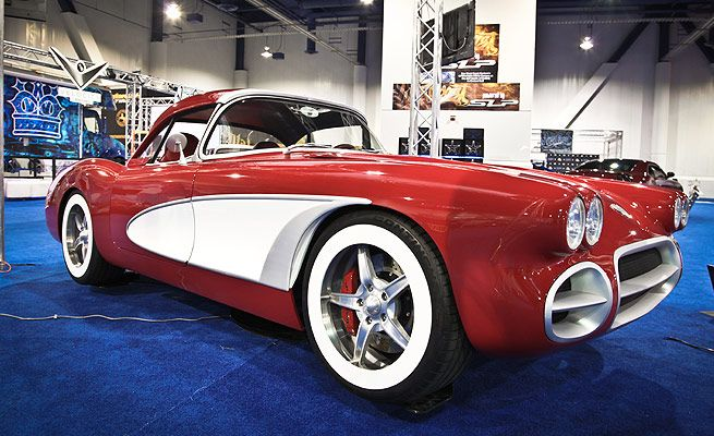 Chevy Corvette Zr 59 Old School 1959 Do Rapper Will I Am By West Coast Customs With Images West Coast Customs Chevy Corvette Old School