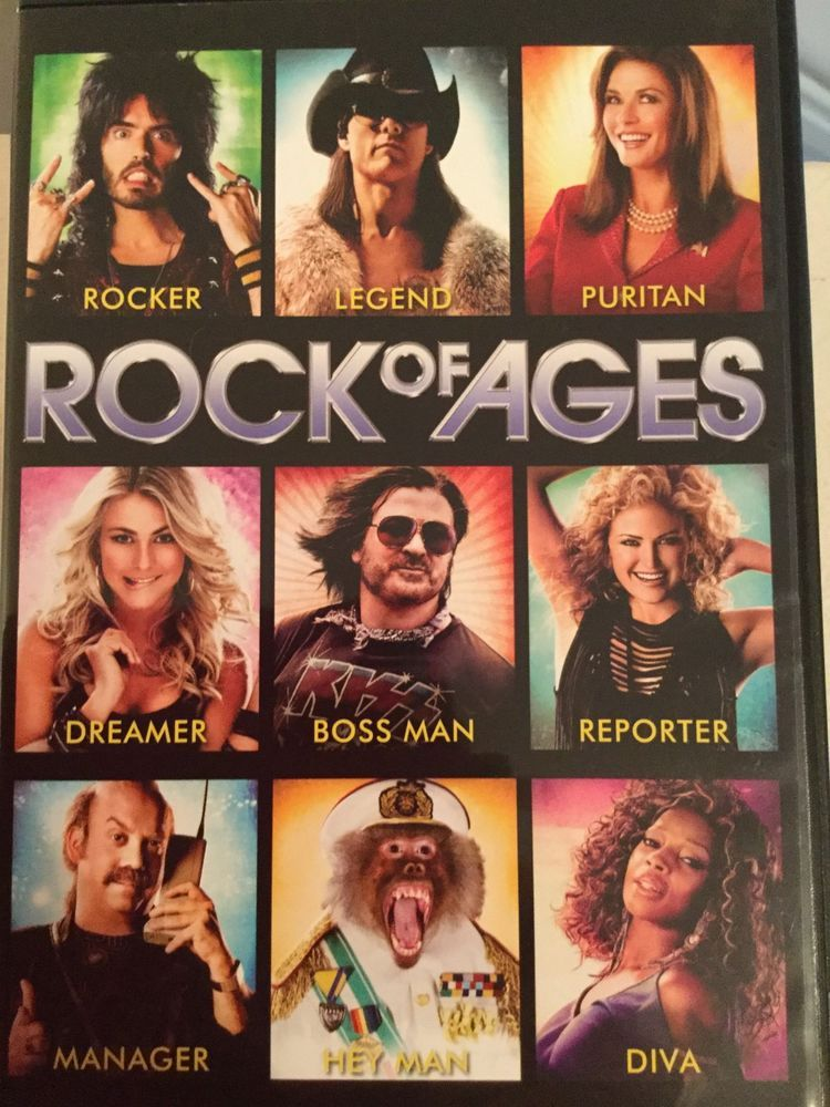 Rock of Ages (DVD, 2012) Rock of ages, 2012 movie, Full