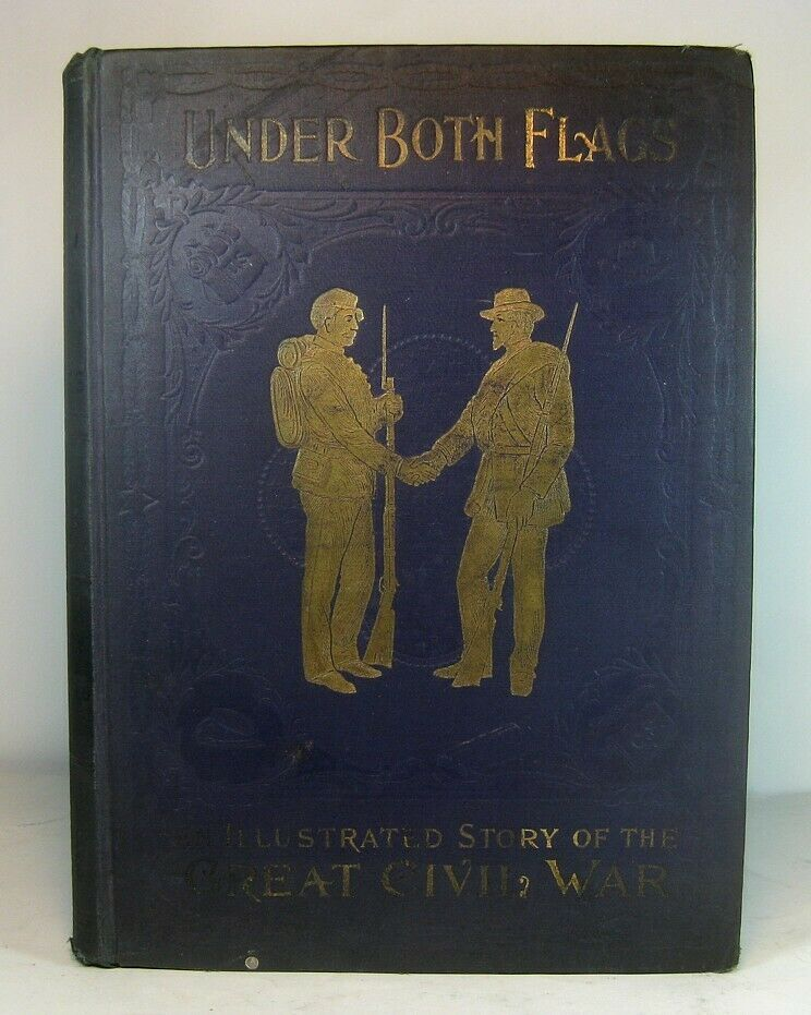 Civil war antique military book 1896 union confederate
