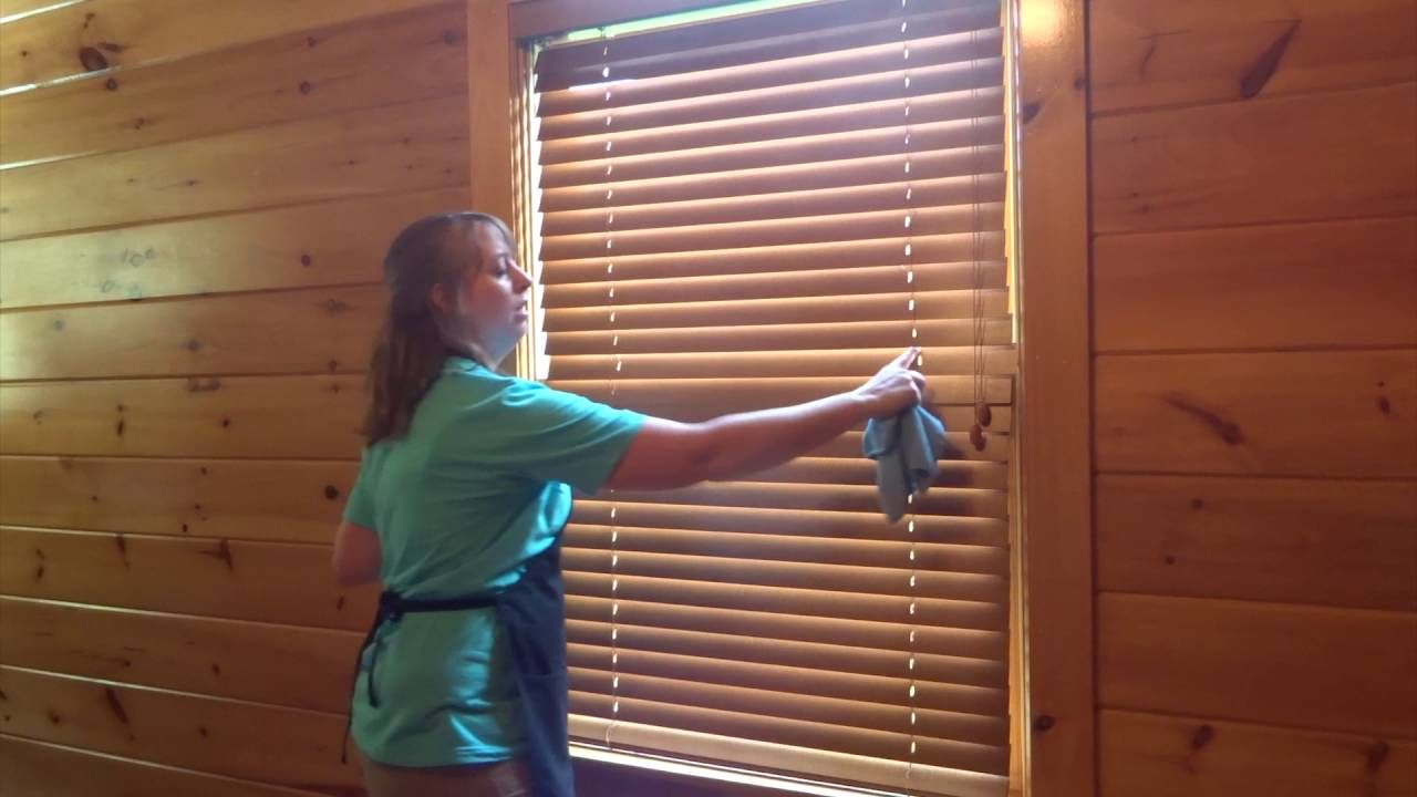 How to Clean Wooden Blinds The Fast Easy Way! YouTube in