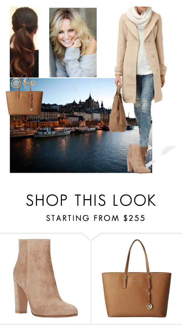 """""""Going shopping in Stockholm with Linda and talking about their plans for Christmas"""" by deborawinter ❤ liked on Polyvore featuring Gianvito Rossi and MICHAEL Michael Kors"""