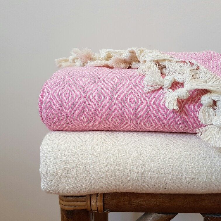 Pink Diamonds Blanket