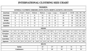 Pants Size Chart International Zara Sizes Are Considered Too