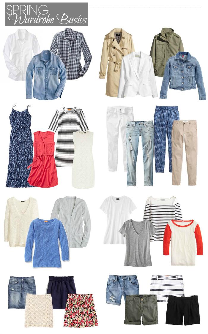 Closet Essentials: Spring - Penny Pincher Fashion