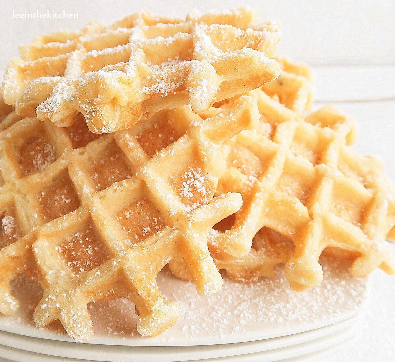 The best (vegan) waffles* Die besten (veganen) Waffeln | Leeinthekitchen