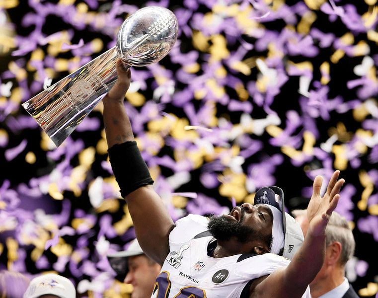 Photos Ravens win Vince Lombardi Trophy, as Flacco named
