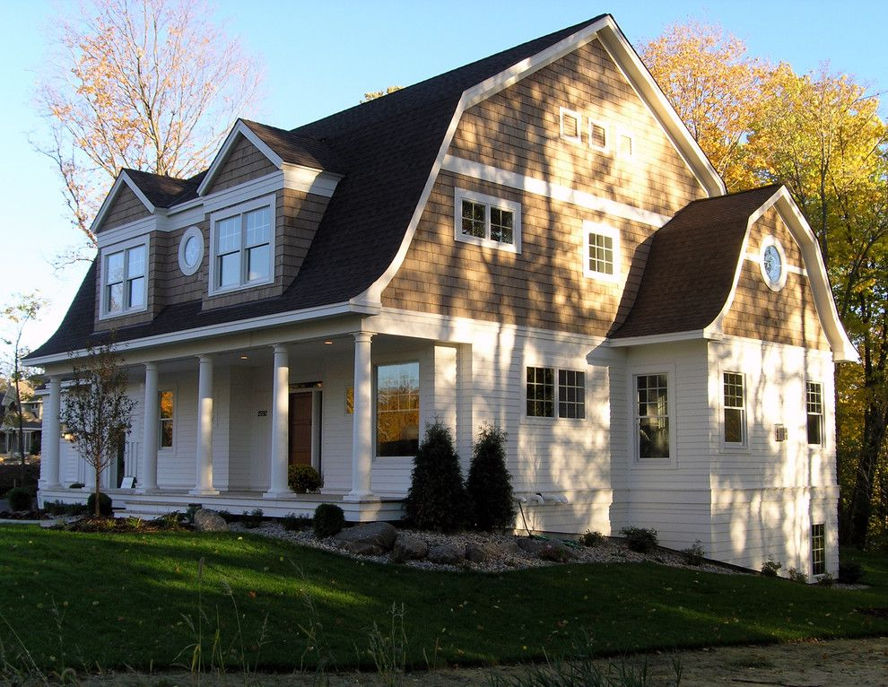 Classic Home Remodeling Exterior Plans shingle style dutch colonial exterior  traditional  exterior