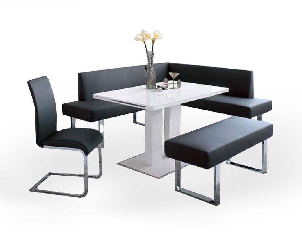 Modern Corner Nook Dining Set Sgex