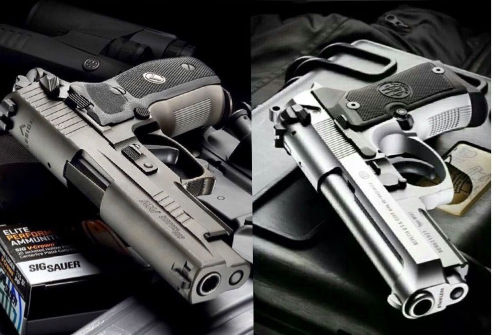 What a hard decision to make    Sig 226 vs Beretta 92fs