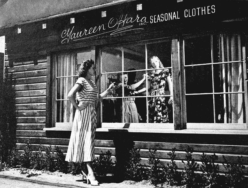 Dress Shop of Maureen O'Hara 1947