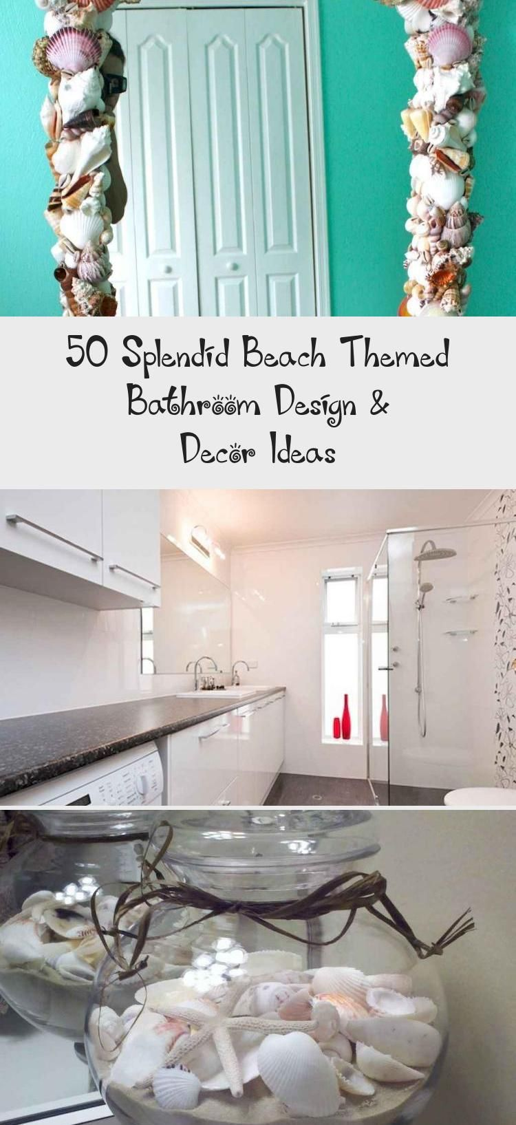 50 Splendid Beach Themed Bathroom Design & Decor Ideas – Decorations Bathroom