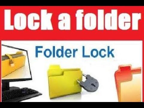 HOW TO CREATE A PASSWORD TO A FOLDER IN WINDOWS 7 - Protect