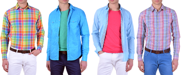 c6371f3e876 Summer is just behind the corner and once again new fashion trends for men  bring bright