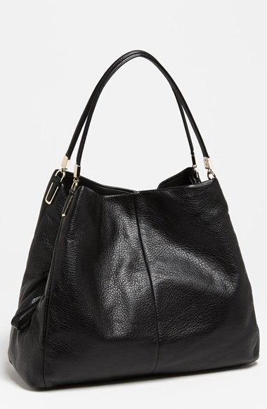 Coach Large Madison Phoebe Leather Shoulder Bag Available At Nordstrom