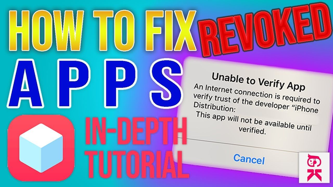 FIXED 2019* How To Fix Revoked TweakBox Apps (UNABLE TO